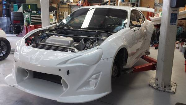 RWD Corolla with a twin-turbo 2JZ-GTE inline-six