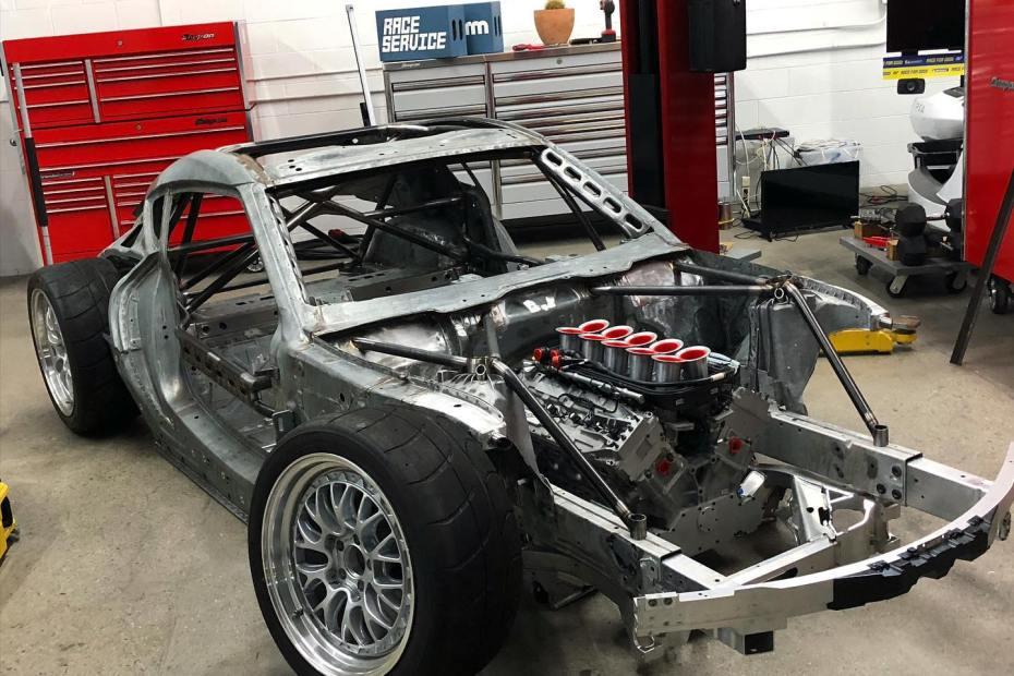 Ryan Tuerck Supra Mk5 with a 4.0 L Judd V10