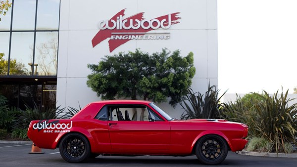 Wilwood 1966 Mustang with a Coyote V8