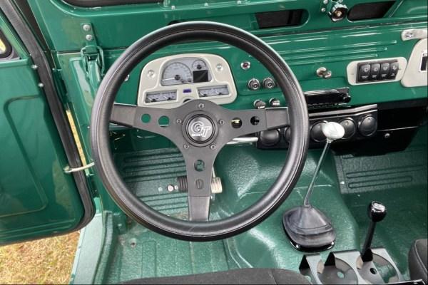 1966 Land Cruiser with a Cummins 3.3 L turbo diesel inline-four