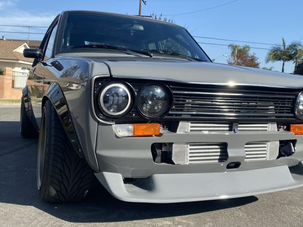 1971 Datsun 510 with a turbo SR20DET inline-four