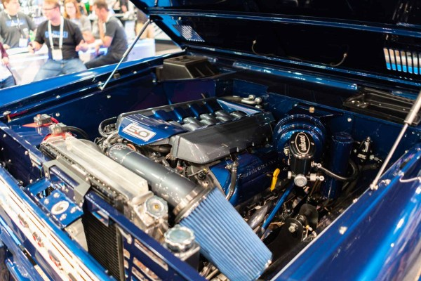 1974 Ford Bronco with a Coyote V8