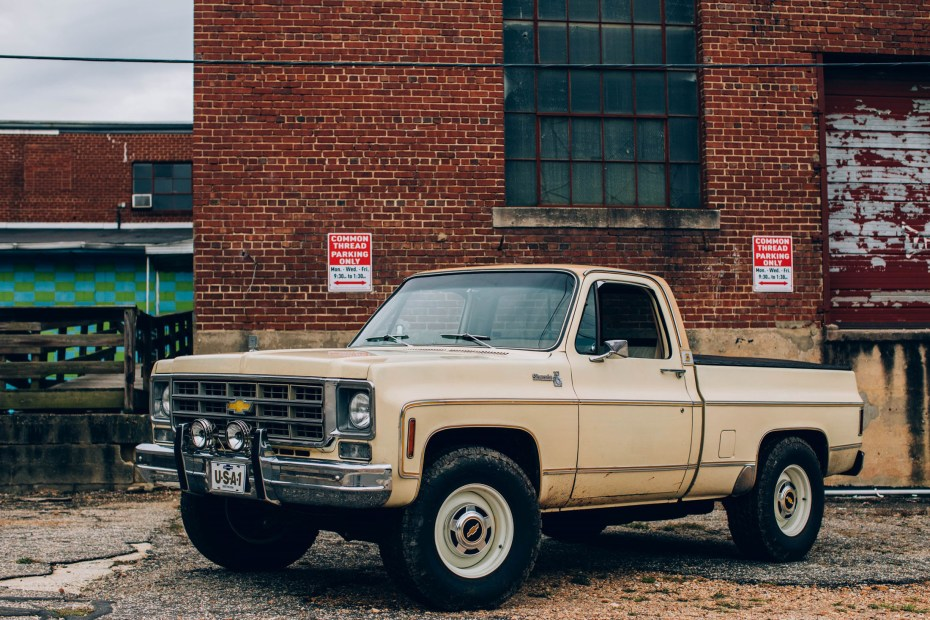1977 Chevy Truck with a supercharged LT4 V8
