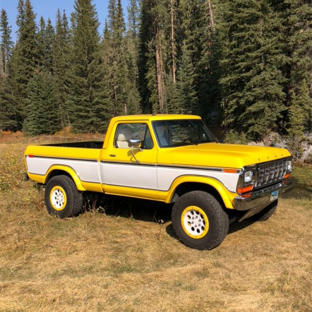1979 F-150 with a SVT Raptor powertrain and chassis