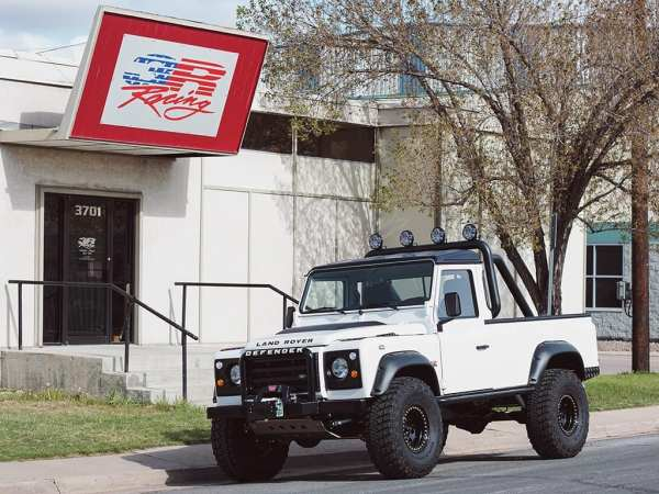 1985 Land Rover Defender with a supercharged LS3 V8