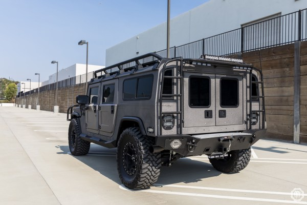 1996 Hummer H1 with a Duramax V8
