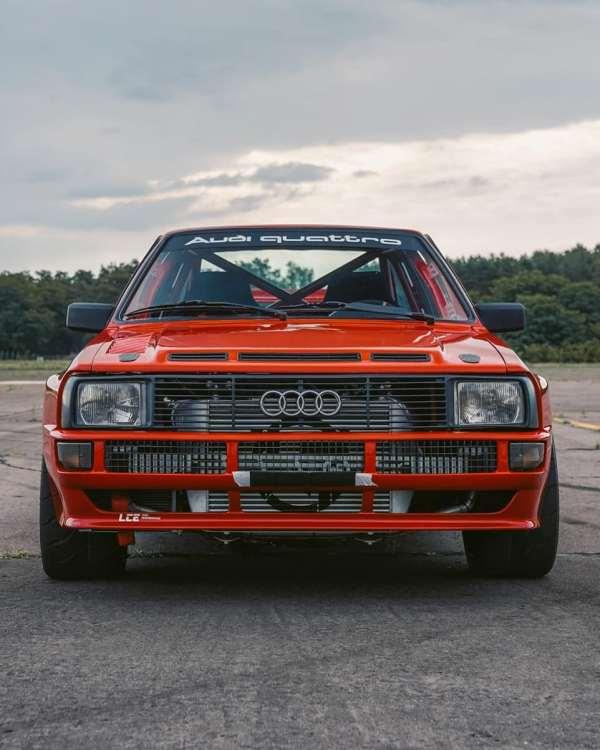 Audi Sport Quattro replica with a turbo inline-five