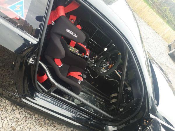 BMW E92 with a turbo RB25 inline-six