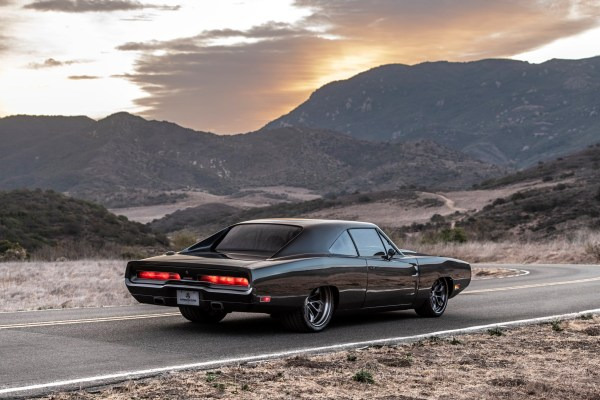 Carbon Fiber 1970 Charger with a supercharged Hellephant V8