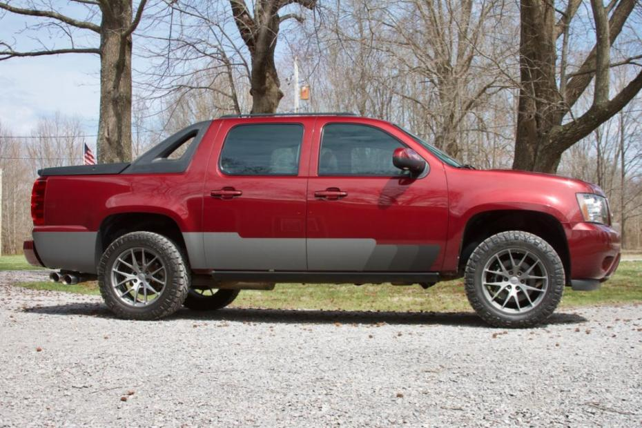 Chevy Avalanche with a supercharged LSx V8