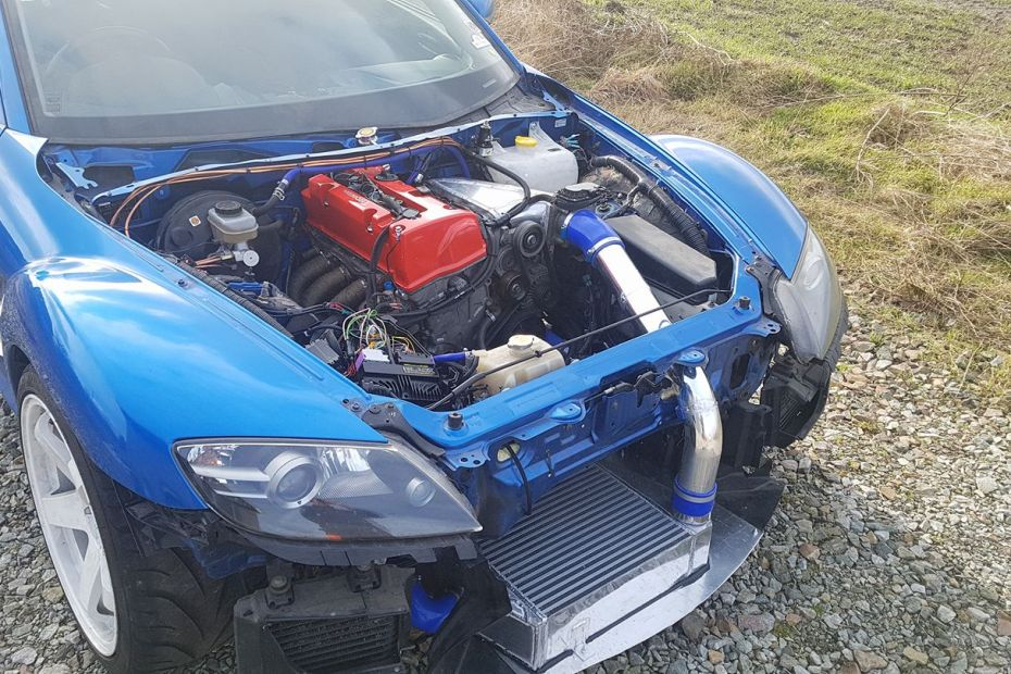 Mazda RX-8 with a Turbo K20 and DCT