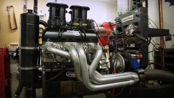 Speedway Motors 410 Spring Car V8