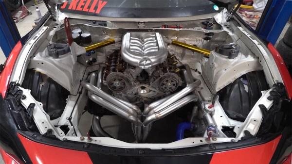 Team Kelly Racing Scion FR-S with a Honda J-series V6