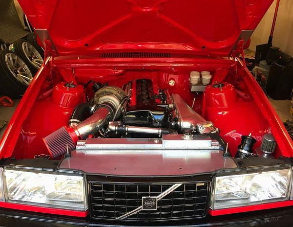 Volvo 940 with a turbo 2JZ inline-six