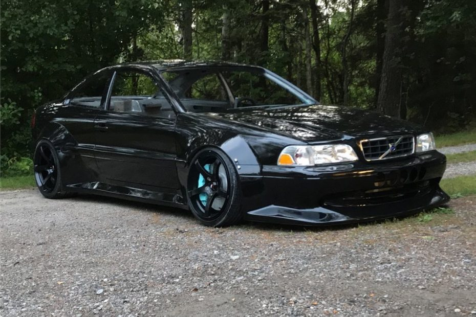 Volvo C70 with a Toyota 7M-GTE inline-six