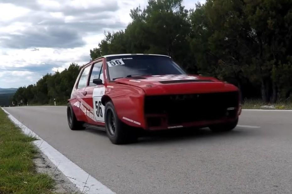 Yugo with a Fiat 1.6 L inline-four