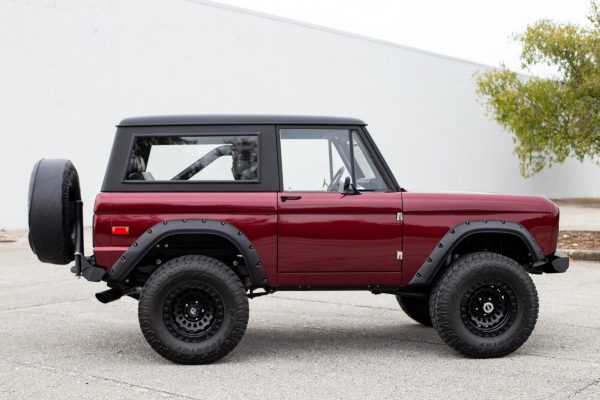 1970 Ford Bronco with a Coyote V8
