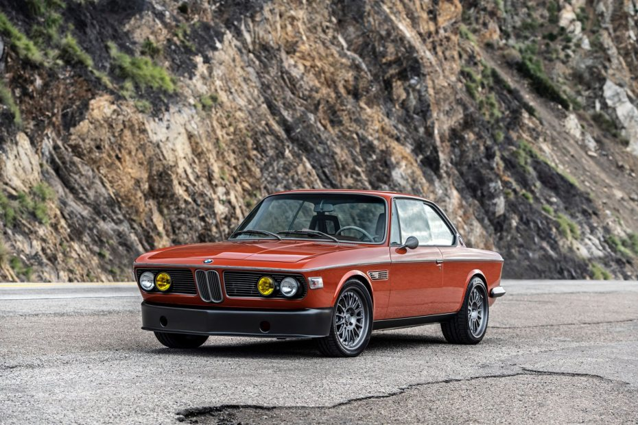 1974 BMW 3.0 CS with a S38 inline-six
