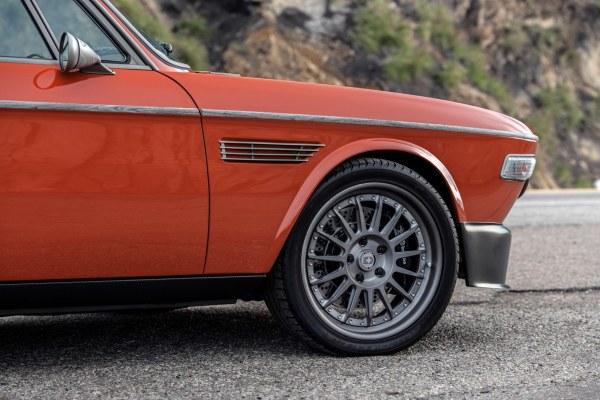 1974 BMW 3.0 CS with a S38 inline-six