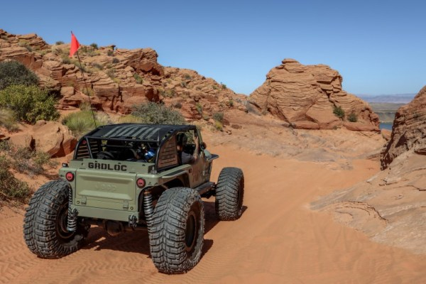 1983 Jeep CJ7 with a supercharged Northstar V8