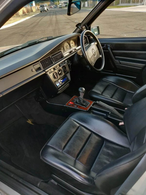 1989 Mercedes 190E with a Nissan SR20DET inline-four