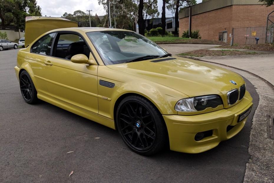 2001 BMW M3 E46 with a S85 V10