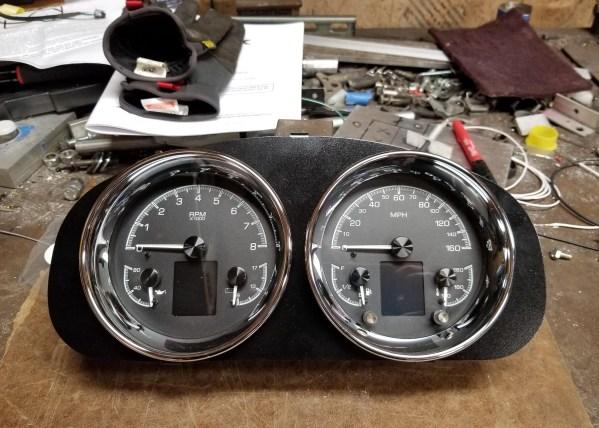 Dakota Digital gauges going to a 2006 Miata with a LSx V8