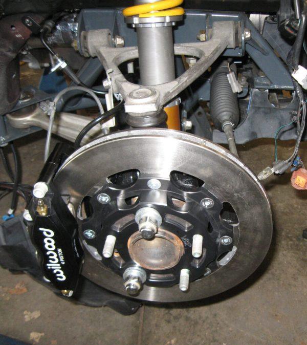 2006 Miata with Wilwood disc brakes