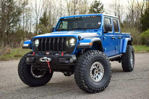 Jeep Gladiator Rubicon with a supercharged Hellcat V8