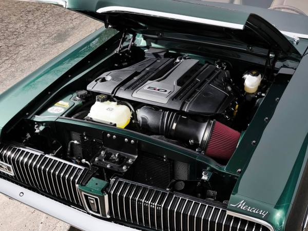 1968 Mercury Cougar built by Ringbrothers with a Coyote V8