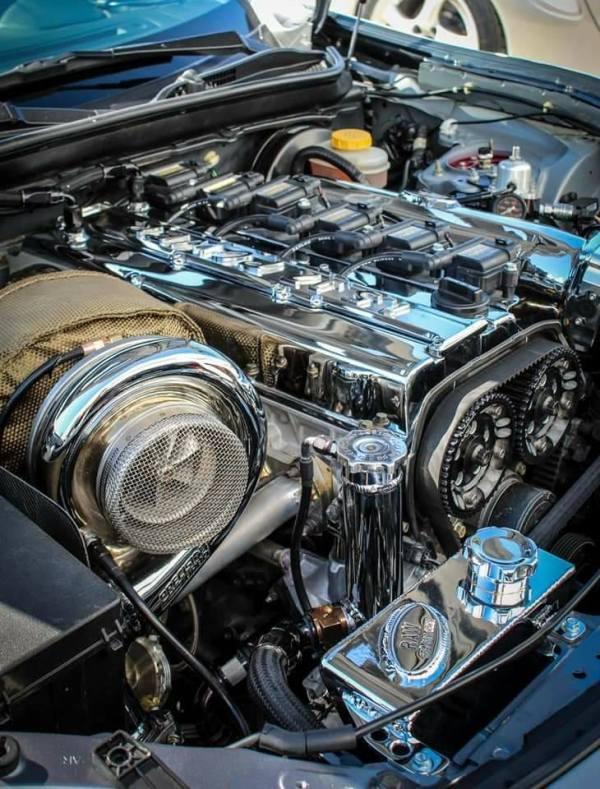 Toyota GT86 with a turbo 1.5JZ inline-six