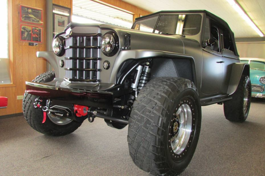 1950 Jeepster built by Divers Street Rods with a 502 ci Chevy big-block V8