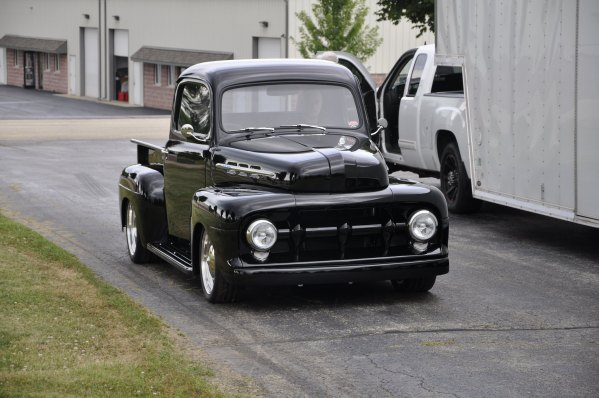 1952 Ford F1 with a Coyote V8