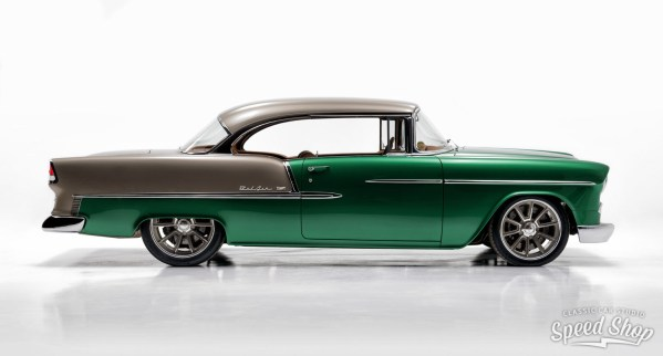 1955 Chevy Bel Air built by Classic Car Studio with a Supercharged LT4 V8