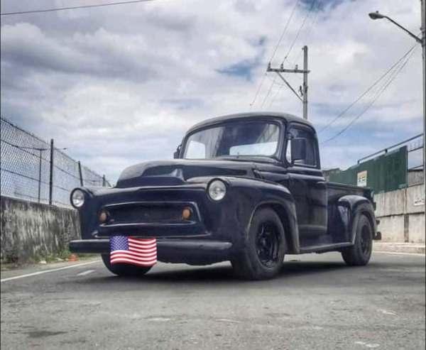 1956 International Harvester truck with a Toyota 1KZ-TE turbo diesel inline-four