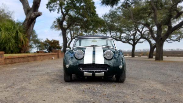 1965 Austin-Healey Sprite with a turbo Mazda 1.6 L inline-four