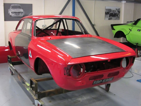1967 Alfa Romeo 1300 GT Junior with a Twin Spark inline-four