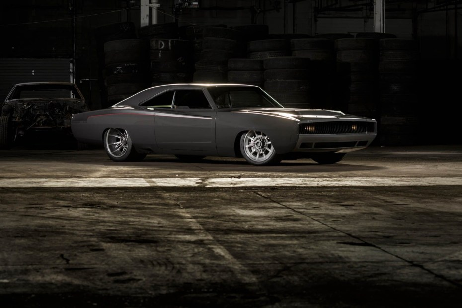 1968 Dodge Charger built by Roadster Shop with a twin-turbo Viper V10