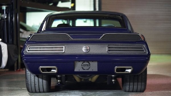 1969 Camaro with a Mercury Racing 7.0 L DOHC SB4 V8