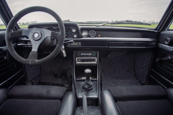 1972 BMW 2002 with a 2.3 L S14 Inline-Four
