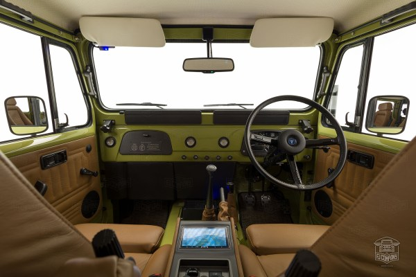 1981 Toyota Land Cruiser with a supercharged 1GR V6