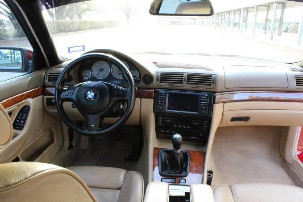 2001 BMW 740i with a S62 V8
