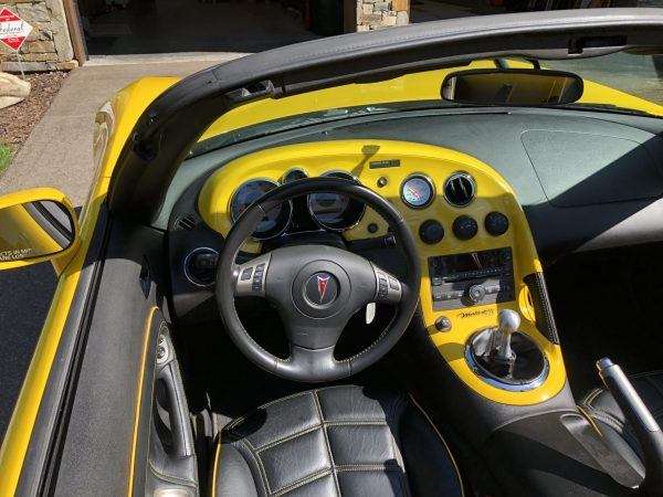 2006 Pontiac Solstice with a turbo LS7 V8