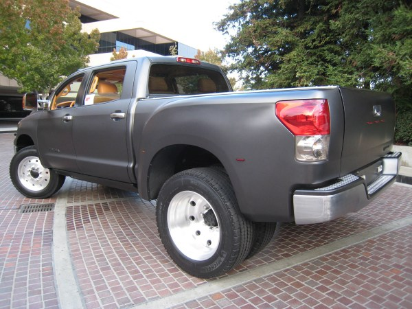 2007 Toyota Tundra with a Hino 8.0 L turbo diesel inline-six