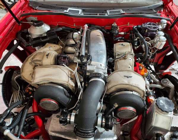 Twin-Turbo 26B Four-Rotor in a AWD Mazda RX-7 built by Todd Budde
