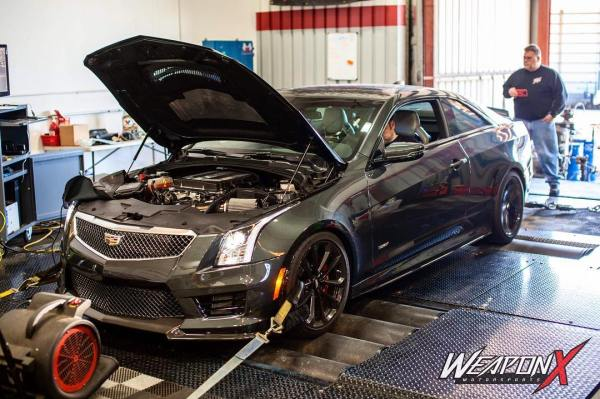 Cadillac ATS-V with a supercharged LT4 V8