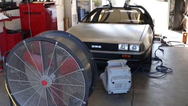 Delorean with a Twin-Turbo Hyundai V6