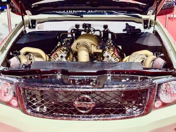 Nissan Patrol with a twin-turbo Audi V10