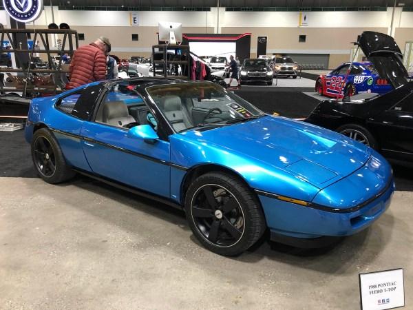 1988 Pontiac Fiero built by Schwa Motorsports with a turbocharged VR6