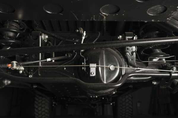 Toyota Land Cruiser truck with a Cummins R2.8 diesel inline-four